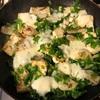カブと豆腐のチーズ焼き