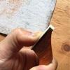 チェロ弓の製作2 四角柱製作とチップの取り付け