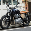 Triumph Bonneville T100 G-Ladder Special Custom(Not For Sale)