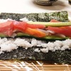 and many people eat maki-zushi, praying for health of this year,