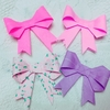 折り紙で立体リボンの作り方