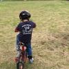 5歳になったばかりの息子、数回の練習で自転車に乗れるようになる