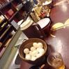 中華そば「もとなり」名護店で「中華そばとサラダ」 330(半額クーポン)+50円