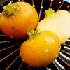 本日の朝食惣菜はオレンジ色のかぶのあんかけ♪