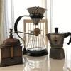 最近またコーヒーにハマっています。直火式エスプレッソメーカーで淹れるコーヒーが美味しい!!