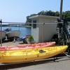 越後国&佐渡島旅行記(3)シーカヤック、岩屋山石窟、たらい舟、砂金採り