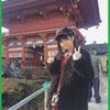 北野瑠華ちゃんが初詣に行った神社にお参りに行く。(前半)