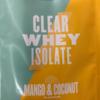 【マイプロテイン】クリアホエイアイソレートのマンゴー&ココナッツをレビュー