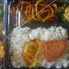 [21/01/14]「琉花」の「豚肉小松菜油あげの煮びたし(日替わり弁当)」 300円 #LocalGuides