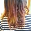 髪を切ってカラーリング♡8月もありがとうございました!!