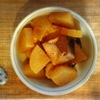 ブリ大根、エビフライ、さつまいも天ぷら、春菊、玉子焼き