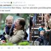 【ヒラリーお孫ちゃん情報】ヒラリーの孫は2歳のシャーロットと、生後半年のエイダン。敗北宣言にも名前が登場していました。
