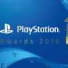 PlayStationアワード 2016受賞タイトル発表されるが・・・