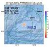 2017年10月19日 18時02分 薩南諸島東方沖でM6.3の地震