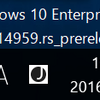 Windows 10 Build 14959リリース