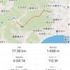 自転車で相模原から道志道を抜けて山中湖の三島由紀夫文学館へ