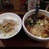 湯島らーめん(文京区湯島)のランチセット(らーめんとねぎチャーシュー丼)