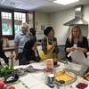 語学学校の料理イベント フォンダンショコラ