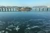 今年も漢江が凍り始めました