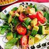 レモンドレッシングでアボカドとルッコラのサラダ(動画レシピ)
