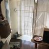 ポジャギ風の暖簾