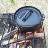 キャンプ飯 ダッチオーブンカレーはキャンプの基本。だから牛すじカレー作ってみた。
