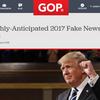 CNN調査。1日1回フェイクと叫ぶトランプ大統領のパワハラ。