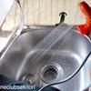 ロケバンリフォーム・キッチン流し台完成、そして旅立ってお試し/自作 バンコン  キャンピングカー      〜洗って流して、溜める。それが一番大事〜