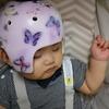 ヘルメット調整(生後7ヶ月と17日目)