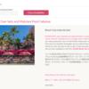 2019年1月 SPGホテルに泊まるハワイ旅行準備編⑥ ~ ロイヤルハワイアンホテルの予約しなおし&デッキチェア予約 ~