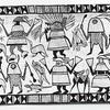 [企画展]★アフリカセヌフォ族の絵布 展