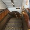 木製エスカレーター(St. Anna tunnel) Antwerp