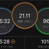 Eペースよりちょい早い30キロ走