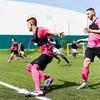 サッカーのミニゲームの意味(選手数、フィールドの大きさ、課題の制約により生理学的、運動学的にも強度を変えることができる)