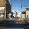 函館の「坂本龍馬像」@龍馬をゆく2009