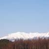 御嶽山(御岳山)の絶景撮影41・2020年4月17日(雪景)