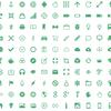 500個以上のインフォグラフィック用のフリーベクターアイコン