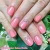 春爛漫♡この季節にピッタリな華やかピンクのワンカラーネイル☆ジェル