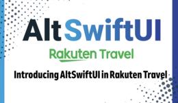 Introducing AltSwiftUI in Rakuten Travel