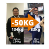 10年前の今日は125kgでした