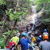 地蔵谷から上野道へのハイキング(その2)地蔵谷前半