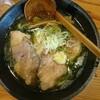 宇都宮市 麺家 大森 限定生のりチャーシュー麺。