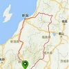 BRM708群馬600km西会津の山並みと日本海①
