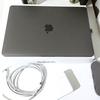 MacBookProを購入しました。