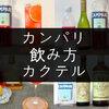 【簡単】カンパリのカクテルレシピ19種【おいしく作るコツあり】