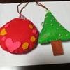 娘と一緒に、初めてのお裁縫。クリスマス飾り作ります。