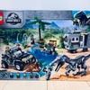 【レゴブロックで恐竜がいるジュラシックワールドの世界を組み立てて宝探し遊びをしよう!】