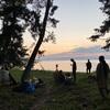 夏至の日は、琵琶湖に!!!
