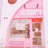 ピンク色の店の『ロンドンカップケーキ』は名古屋でイギリスを感じられるピンクのインスタ映えだぞっ! #ロンドンカップケーキ