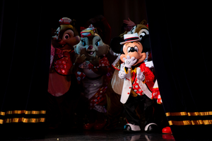 It's Very Minnie!ラス回は照明がきれいでまた違った印象に。